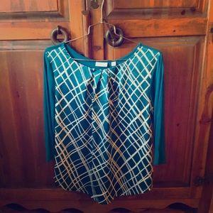 New York & Co 3/4 sleeve blouse (2/$16)